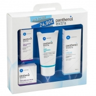 MediSei Panthenol Extra Πακέτο Προσφοράς Serum 30ml +Face&Eye Cream 50ml +Face Cleansing Gel 150ml +Cream για Ερεθισμένα Δέρματα