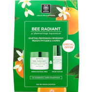 Πακέτο Προσφοράς Bee Radiant Age Illuminating Day Rich Cream 50ml & Δώρο Eye Cream 15ml - Apivita