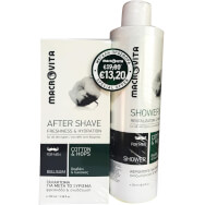 Macrovita Πακέτο Προσφοράς After Shave Freshness & Hydration 100ml & Δώρο Shower Gel Revitalization & Freshness 250ml