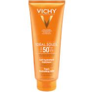Vichy Ideal Soleil Γαλακτωμα Spf50+Προσώπου & Σώματος για Ευαίσθητες Επιδερμίδες 300ml