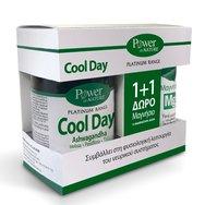 Power Health Πακέτο Προσφοράς Platinum Cool Day, Φυσιολογική Λειτουργία Νευρικού Συστήματος 30tabs & Δώρο Magnesium 10Effer.Tabs