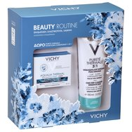 Vichy Promo Beauty Routine Aqualia Thermal Light Rehydrating Cream 50ml & Δώρο Vichy Purete Thermale 3 in 1, 100ml
