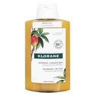 Klorane Mangue Shampoo, Σαμπουάν με Μάνγκο για Ξηρά - Ταλαιπωρημένα Μαλλιά 200ml / 400ml