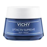 Vichy Liftactiv Derm Source Αντιρυτιδική & Συσφικτική Κρέμα Νύχτας, Lifting Μεγάλης Διάρκειας 50ml