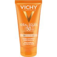 Vichy Ideal Soleil BB Emulsion Spf50 Tinted Αντηλιακή Κρέμα Προσώπου Υψηλής Προστασίας, Με Χρώμα & Ματ Αποτέλεσμα 50ml