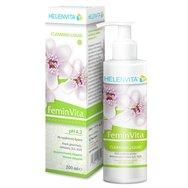 Helenvita FeminVita Cleansing Liquid pH 4.2 Υγρό Καθαρισμού για την Ευαίσθητη Περιοχή με Πρεβιοτική Δράση 200ml