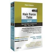 Frezyderm Hair Force Oral Tabs Συμπλήρωμα Διατροφής για τη Φυσιολογική Κατάσταση των Μαλλιών, των Νυχιών και του Δέρματος 60tabs