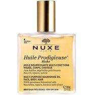 Nuxe Promo Ειδική Τιμή Huile Prodigieuse Riche Πλούσιο Ξηρό Λάδι για Πρόσωπο Σώμα Μαλλιά 100ml