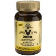 Solgar Formula VM-2000 Συμπλήρωμα Διατροφής Πλούσιο σε Αντιοξειδωτικά & Μέταλλα Χηλικής Μορφής tablets