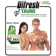 Balance Difresh Tauro Delay Spray Φυσικό Σπρέι Επιβράδυνσης Ταχείας Δράσης Για Άνδρες 10ml