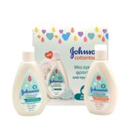Δείγμα Johnson's Cottontouch Bath & Wash 2 σε 1, 50ml & Face & Body Λοσιόν 50ml & Ενημερωτικό Φυλλάδιο