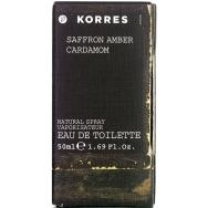 Korres Saffron/Amper/Cardamon Άρωμα Για Άνδρες Eau de Toilette 50ml