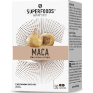 Superfoods Maca Συμπλήρωμα Διατροφής για την Αύξηση της Libido 50 Κάψουλες