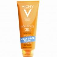 Vichy Capital Soleil Spf30, 300ml,Αντηλιακό Γαλάκτωμα Υψηλής Προστασίας Προσώπου- Σώματος