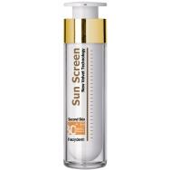 Frezyderm Sun Screen Velvet Face Cream Spf30 Διάφανη Αντηλιακή Προσώπου Βελούδινης Υφής, Υψηλής Προστασίας 50ml