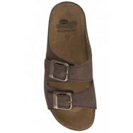 Scholl AirBag Καφέ Ανδρικά Καλοκαιρινά Ανατομικά Παπούτσια που Χαρίζουν Σωστή Στάση & Φυσικό, Χωρίς Πόνο Βάδισμα 1 Ζευγάρι
