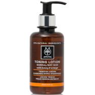 Cleansing Toning Lotion With Honey & Orange Normal/Dry Skin 200ml - Apivita