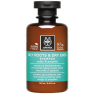 Oily Roots & Dry Ends Shampoo With Nettle & Propolis 250ml - Apivita