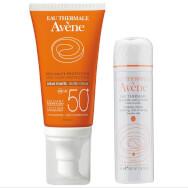 Avene Creme Teintee Αντιηλιακή Προσώπου με Χρώμα Spf50 50ml + Δώρο Eau Thermale Spray Ιαματικό Νερό 50ml