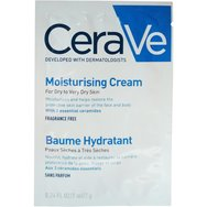 Δείγμα CeraVe Moisturising Cream Ενυδατική Κρέμα - Βάλσαμο Προσώπου & Σώματος για Ξηρή - Πολύ Ξηρή Επιδερμίδα 7ml