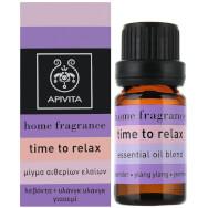 Essential Oil Time Τo Relax 10ml - Apivita
