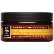 Nourish & Repair Hair Mask With Olive & Honey 200ml - Apivita