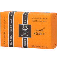 Natural Soap With Honey 125g - Apivita