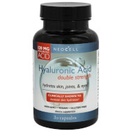 Neocell Hyaluronic Acid Double Strength 120mg Συμπλήρωμα Διατροφής Υαλουρονικού Οξέως Διπλής Ισχύος 30caps