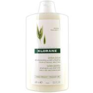 Klorane Extra-Doux Shampooing au Lait d' Avoine Σαμπουάν με Βρώμη για Έξτρα Απαλότητα & Προστασία