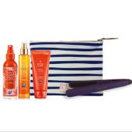 Phyto Πακέτο Προσφοράς Huile After Sun 100ml, Huile Protectrice Μαλλιών 100ml, Shampoo 200ml & Δώρο Πρέσα Μαλλιών & Νεσεσερ