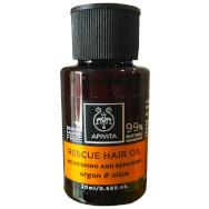Δώρο Mini Sizer Apivita Rescue Hair Oil Λάδι Θρέψης & Επανόρθωσης για τα Μαλλιά με Αργκάν & Ελιά 20ml
